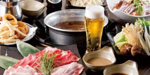 コミコミ焼肉+お鍋宴会コース